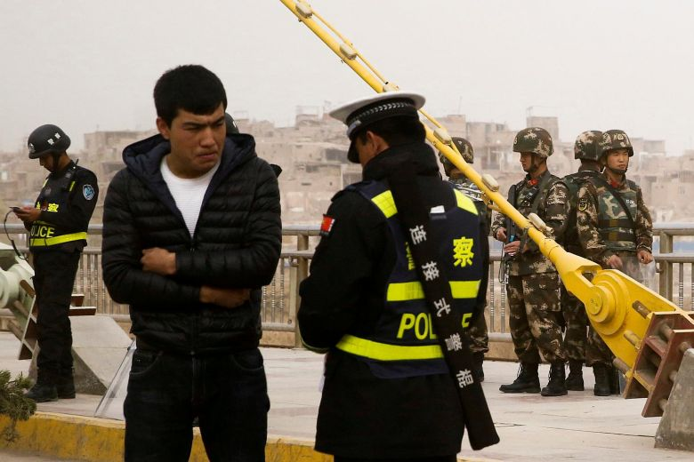"China forces people ""Poisoned by Extremism, Terrorism"" to Surrender"