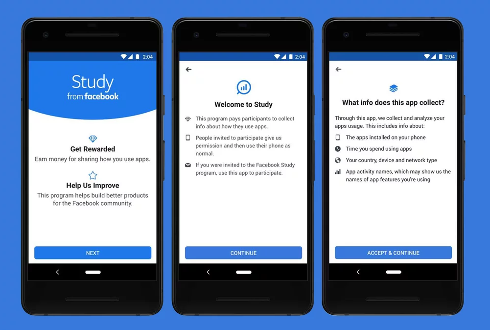 Facebook's latest paid research app allows users to track Competitors, Startups