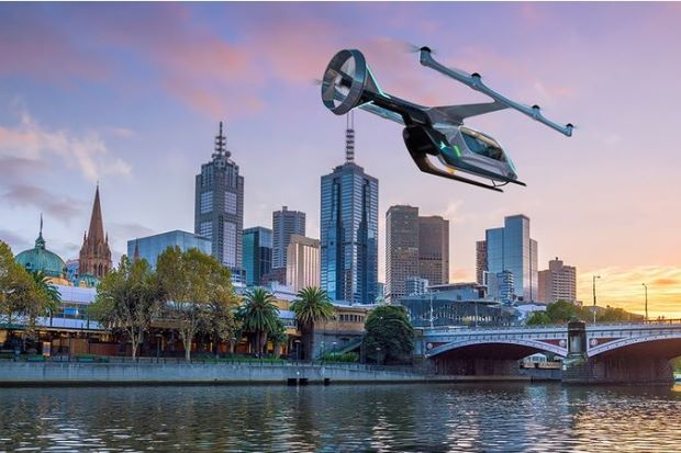 Uber Opts for Melbourne as Test City for Flying Taxi Service